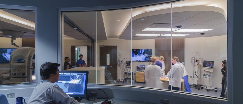 Interprofessional Immersive Simulation Center Tradeline