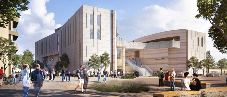University of California, Santa Barbara - Classroom Building