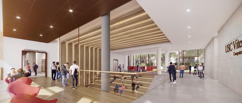 University of Southern California - Ginsburg Human-Centered Computation Hall