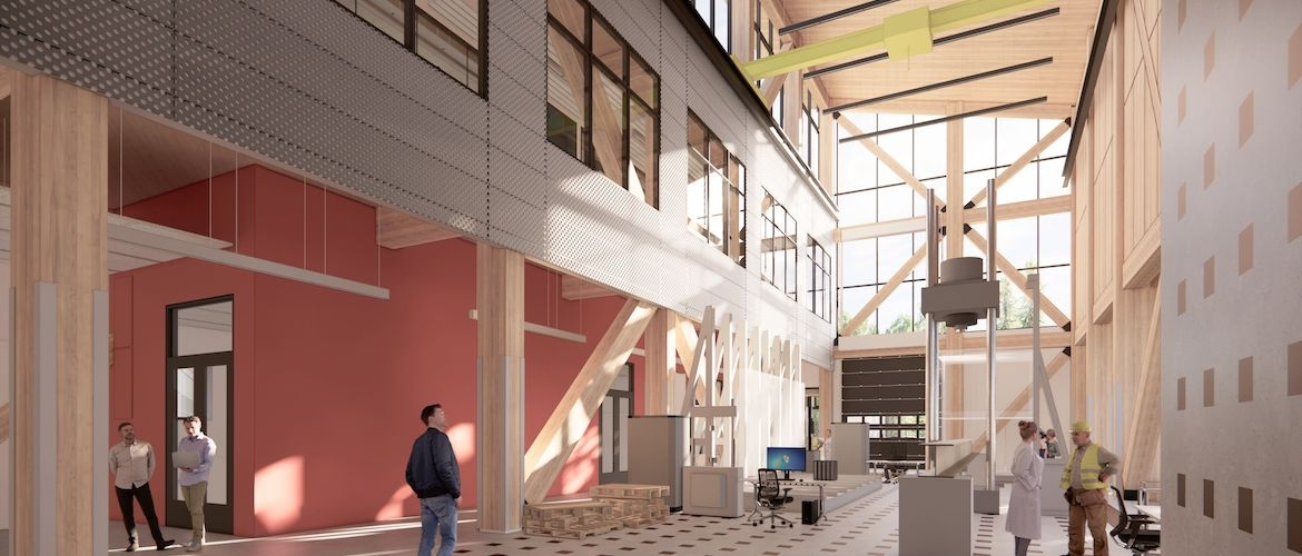 University of Victoria - High Bay Research and Structures Lab
