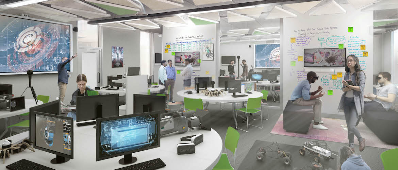 Trinity College Dublin - Martin Naughton E3 Learning Foundry