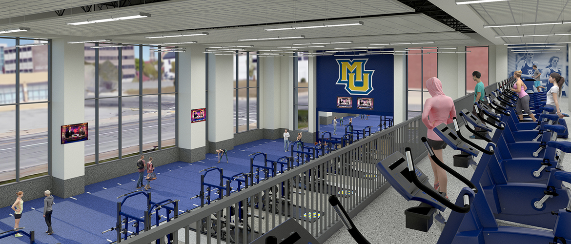 Marquette University - Athletic and Human Performance Research Center