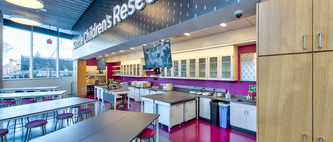 Seattle Children's Research Institute - Building Cure - Science Discovery Lab
