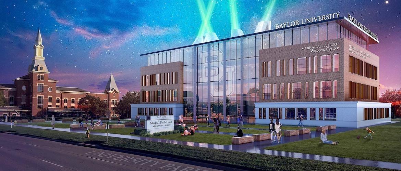 Baylor University - Mark and Paula Hurd Welcome Center