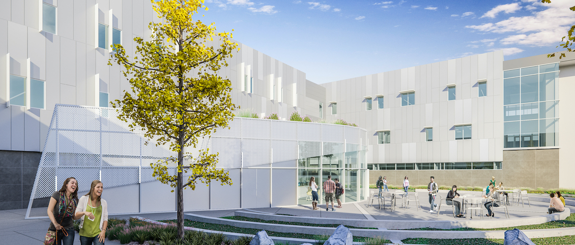 Golden West College - Math and Science Building