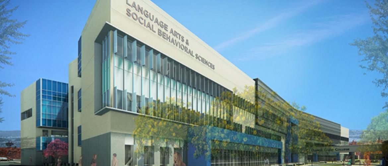 Orange Coast College - Language Arts and Social Behavioral Sciences Building