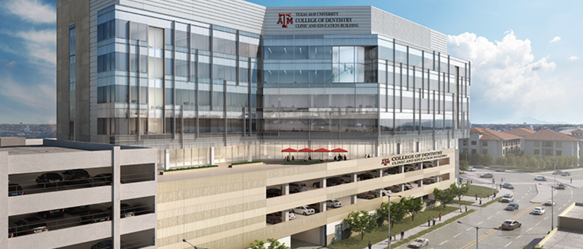 Texas A&M University - College of Dentistry - Clinic & Education Building