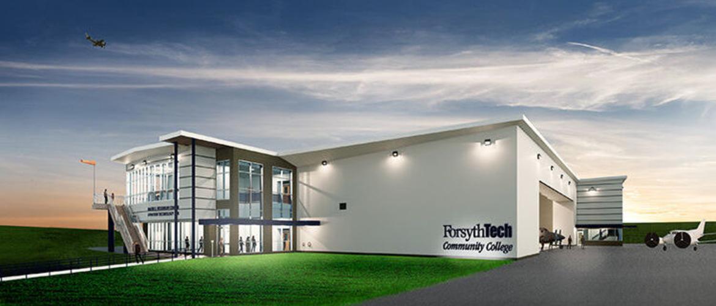 Forsyth Technical Community College - Mazie S. Woodruff Aviation Technology Lab