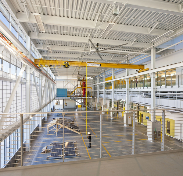 Georgia Tech Integrates High Bay And Mid Bay With Labs And